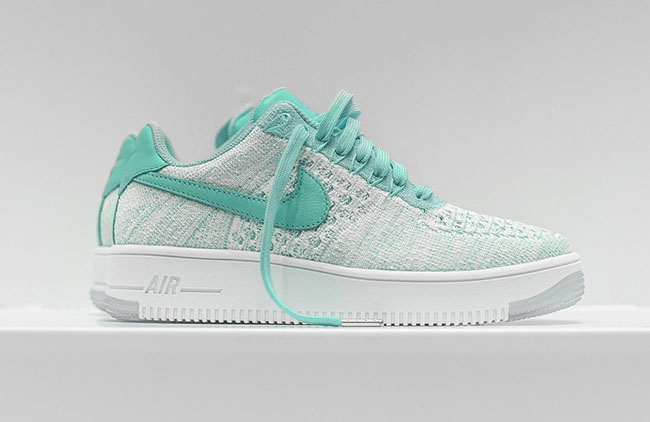 96bad008ab8c Nike Flyknit Air Force 1 Low Emerald