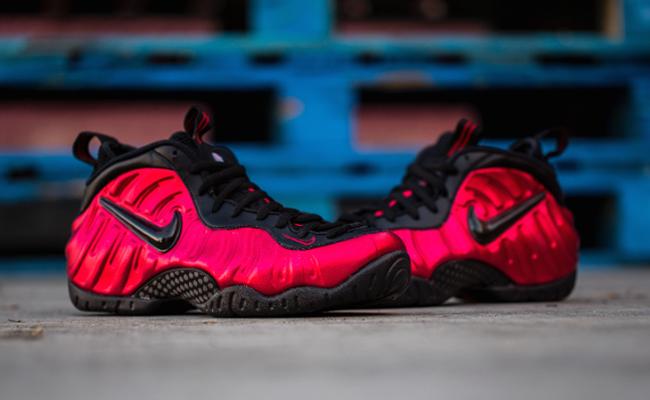 Nike Foamposite Pro University Red Release