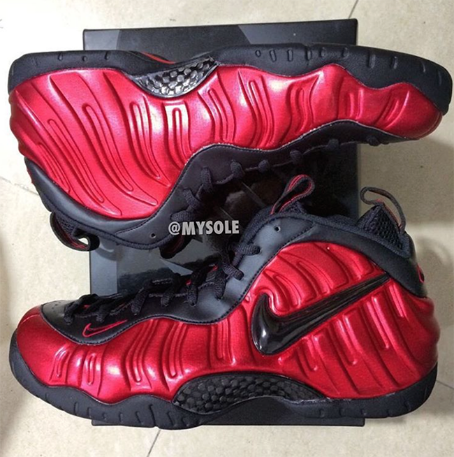 Nike Foamposite Pro University Red Release Date