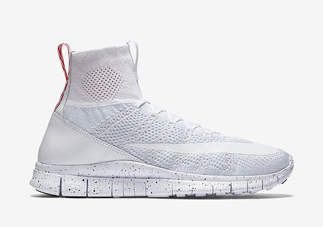 Nike Free Flyknit Mercurial Superfly White