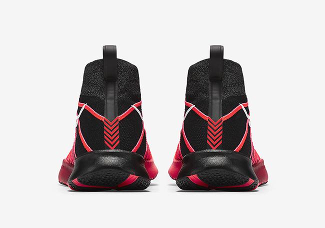 Nike Free Train Force Flyknit Crimson Red Black