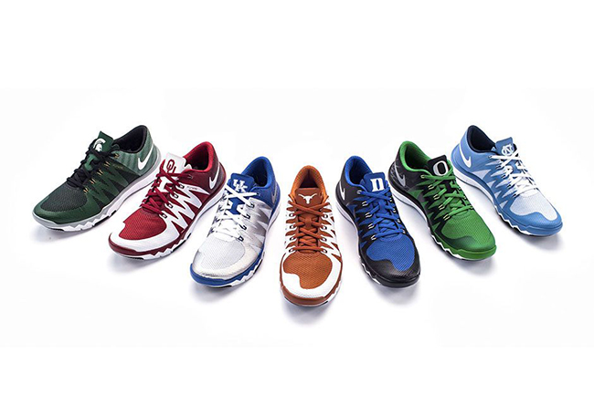 Nike Free Trainer 5.0 March Madness Collection
