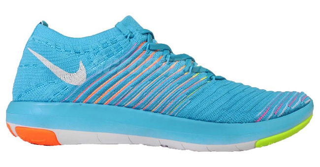 Nike Free Transform Flyknit Blue Orange