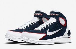 Nike Huarache 2K4 University Red UCONN Retro