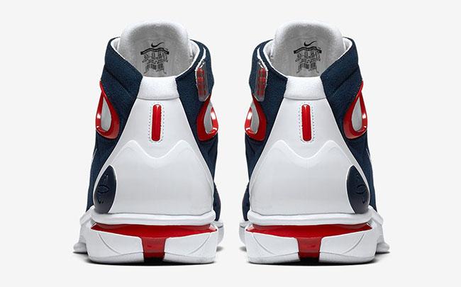 Nike Huarache 2K4 University Red UCONN Retro
