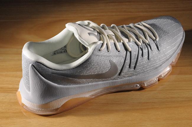 Nike KD 8 Wolf Grey Metallic Silver
