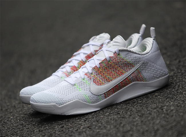 Nike Kobe 11 Elite Low 4KB White Multicolor | SneakerFiles