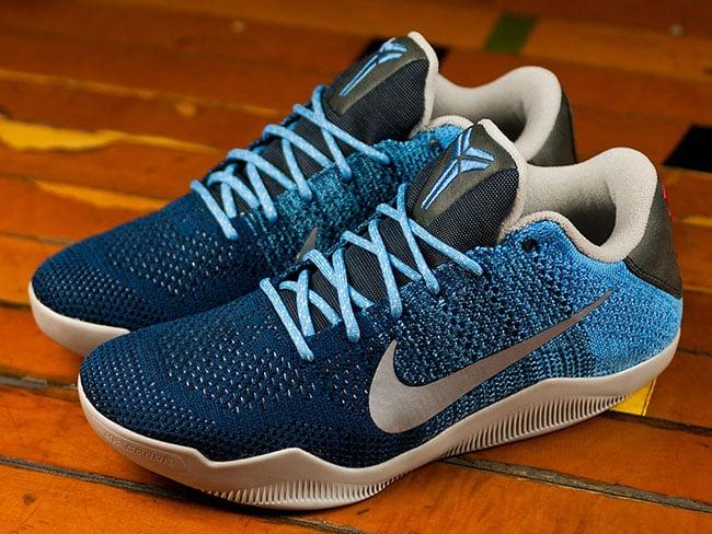 e91577a6310d Nike Kobe 11 Elite Low Brave Blue Release