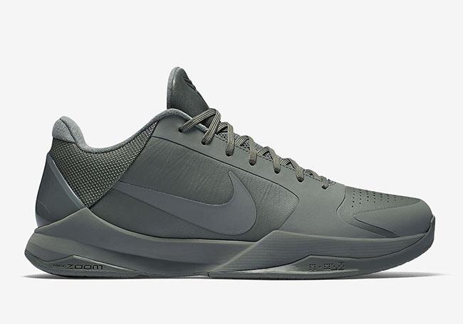 Nike Kobe 5 FTB Fade to Black Mamba