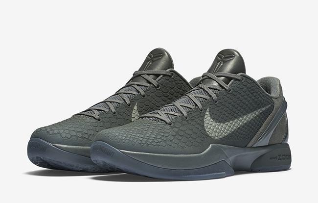 Nike Kobe 6 FTB Fade to Black Mamba