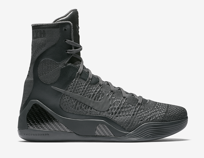 Nike Kobe 9 Elite FTB Fade to Black Mamba