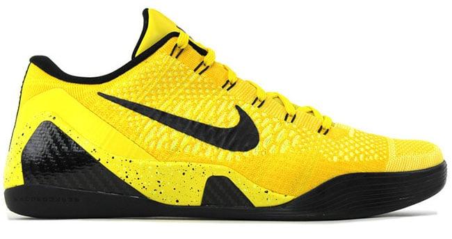 Nike Kobe 9 Elite Low Bruce Lee Sample