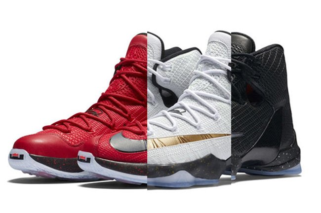 22bb580ea2252 Nike LeBron 13 Elite Colorways Release Date