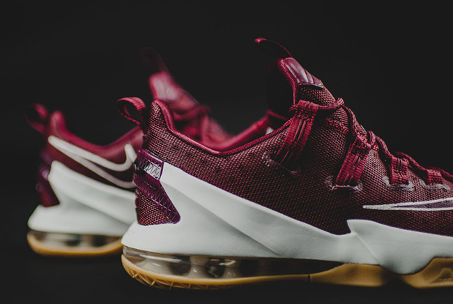 Nike LeBron 13 Low Team Red Gum