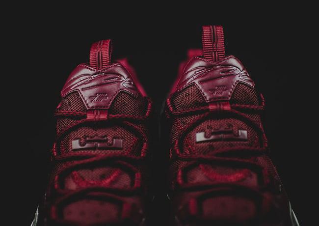 Nike LeBron 13 Low Team Red Gum