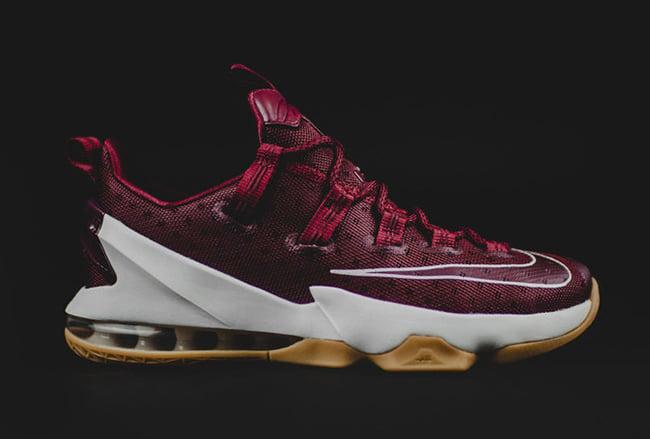 Nike LeBron 13 Low Cavs Team Red Gum