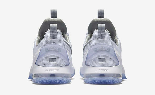 Nike LeBron 13 Low High Velocity Metallic Silver