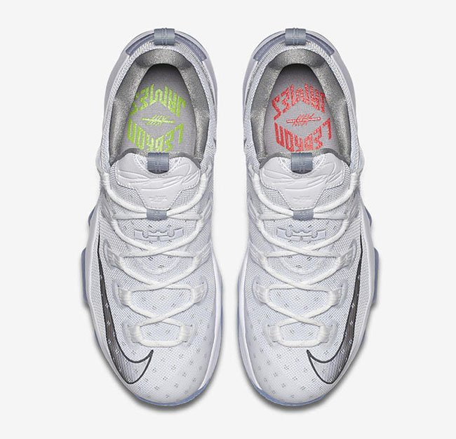 2adaec0c092c19 The Nike LeBron 13 Low Metallic Silver Finally Released at Nike Store best