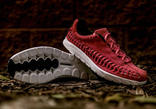 Nike Mayfly Woven Terra Red