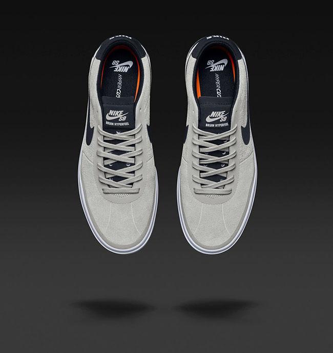 Nike SB Bruin Hyperfeel White Black