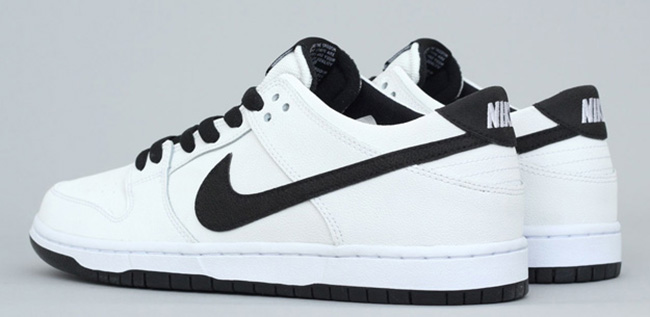 Nike Sb Dunk Low Negro Blanco Exf65