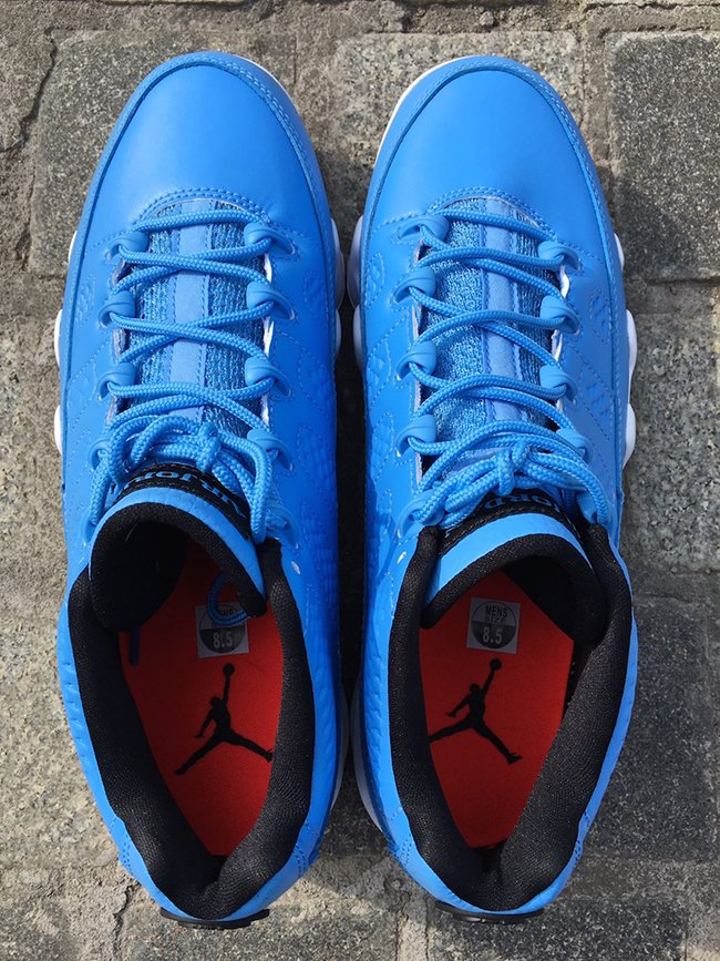 Pantone Air Jordan 9 Low Retro