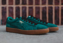 Puma Suede Classic Casual Storm Green