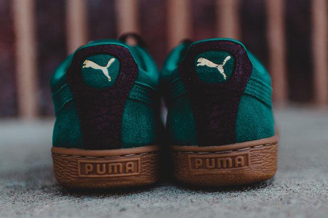 Puma Suede Classic Casual Storm Green