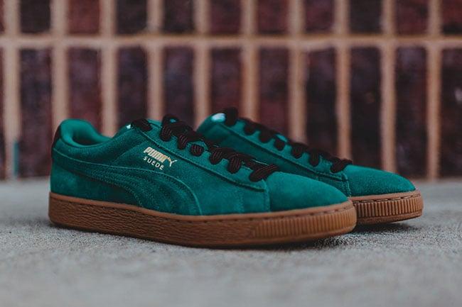 sale retailer 0e37e f5c38 Puma Suede Classic Casual Storm Green | SneakerFiles
