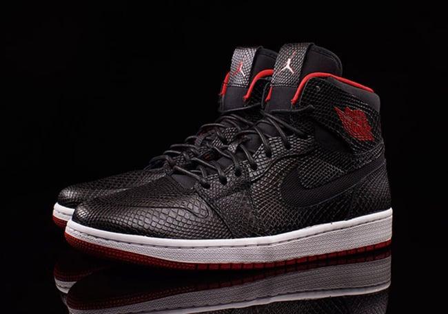 Snakeskin Air Jordan 1 High Nouveau