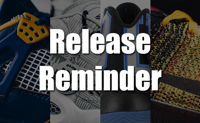 Sneakers Release March 18 19 2016