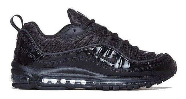 Supreme Nike Air Max 98 Black