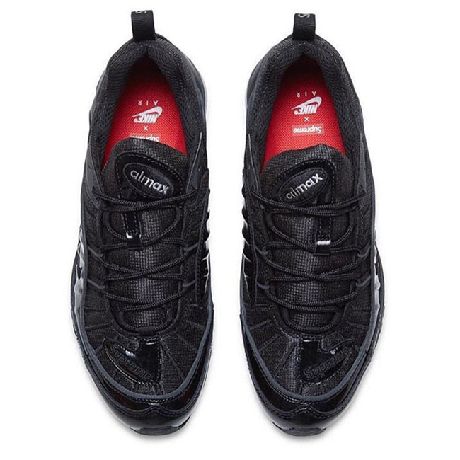 Supreme x Nike Air Max 98 Black 50%OFF - cplondon.org.uk 39ae7aa31