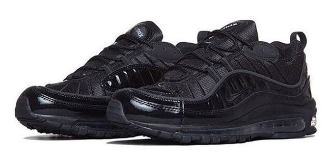 b90db7970616 Supreme x Nike Air Max 98 Black 50%OFF - cplondon.org.uk