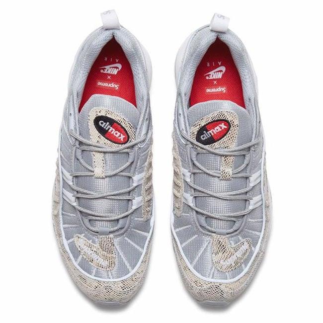 Supreme Nike Air Max 98 Snakeskin  9f23addfd