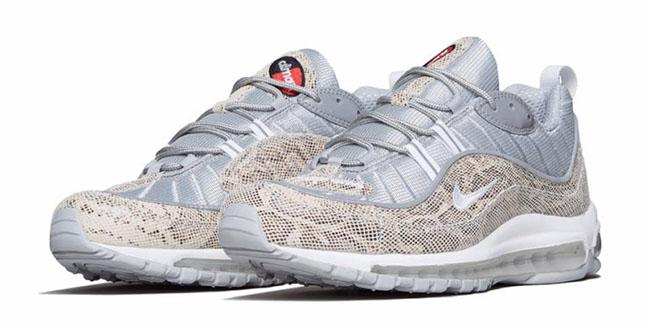 933d93a520 Supreme Nike Air Max 98 Snakeskin | SneakerFiles