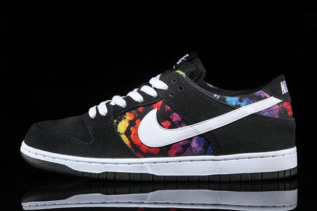 Tie Dye Nike SB Dunk Low Ishod Wair