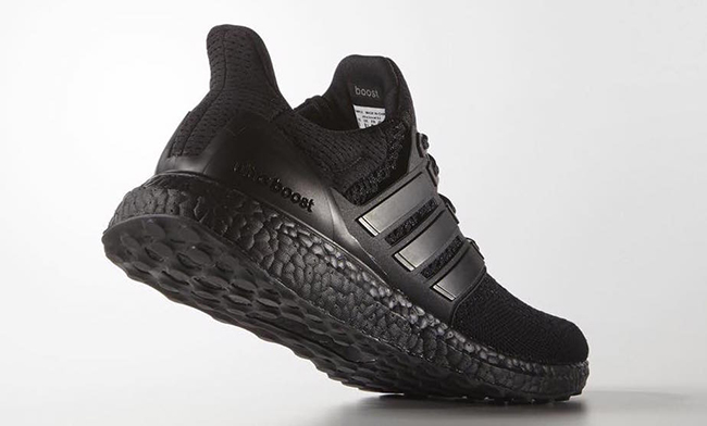 Triple Black adidas Ultra Boost