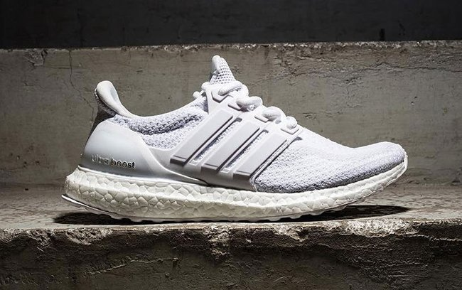 Triple White adidas Ultra Boost