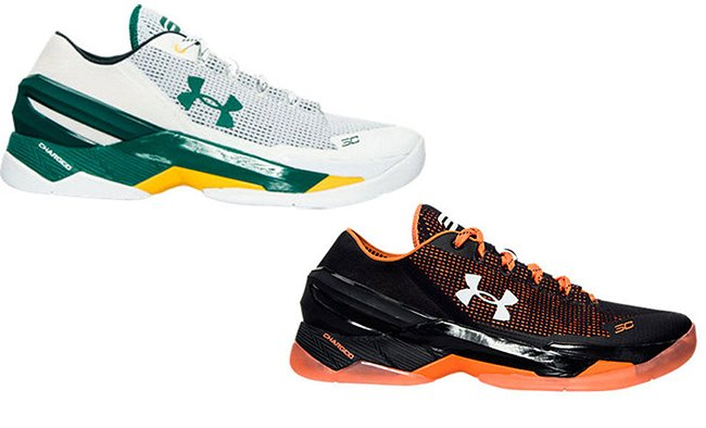 Under Armour Curry 2 Low Bay Area Baseball Pack