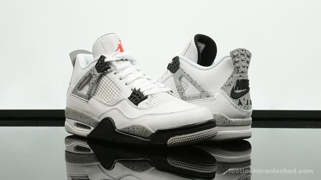 6a5641e9820 Air Jordan 4 Retro OG White Cement is Restocking Tomorrow hot sale ...