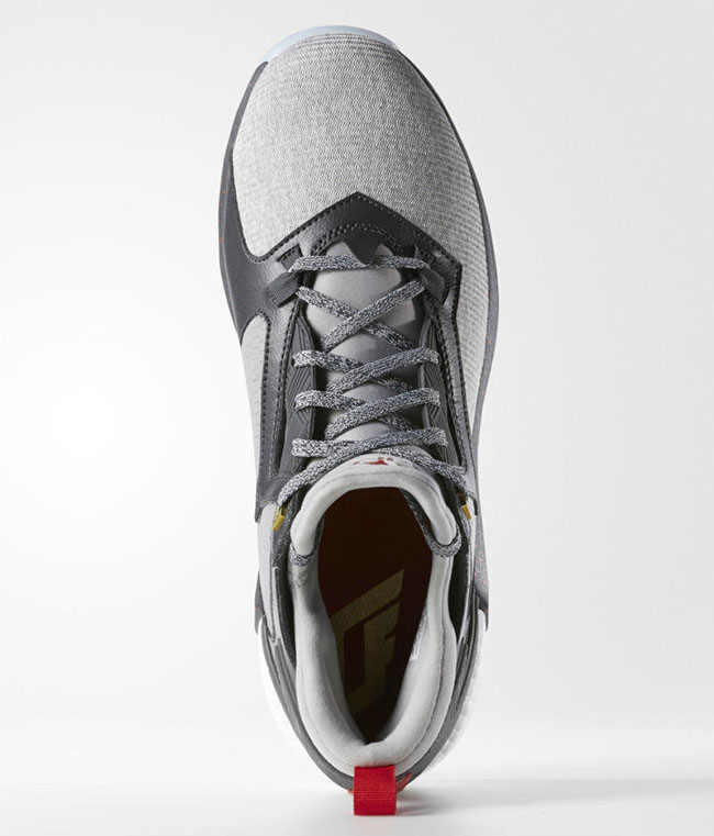adidas D Lillard 2 Boost Grey Heather