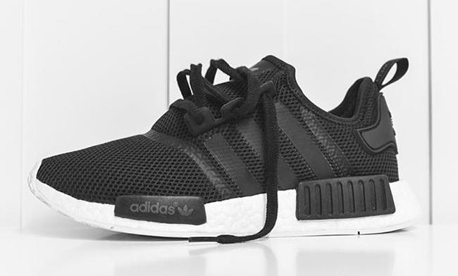 adidas nmd black white