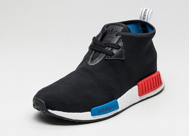adidas NMD Chukka OG Black White Blue Red