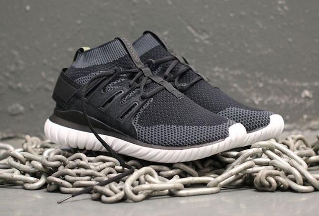 adidas Tubular Nova Primeknit Black Grey