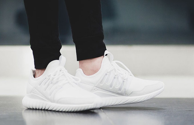 adidas Tubular Radial Crystal White