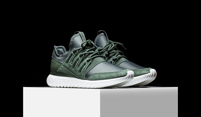 adidas Tubular Radial Shadow Green | SneakerFiles