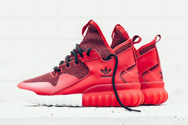adidas Tubular X Red Black White