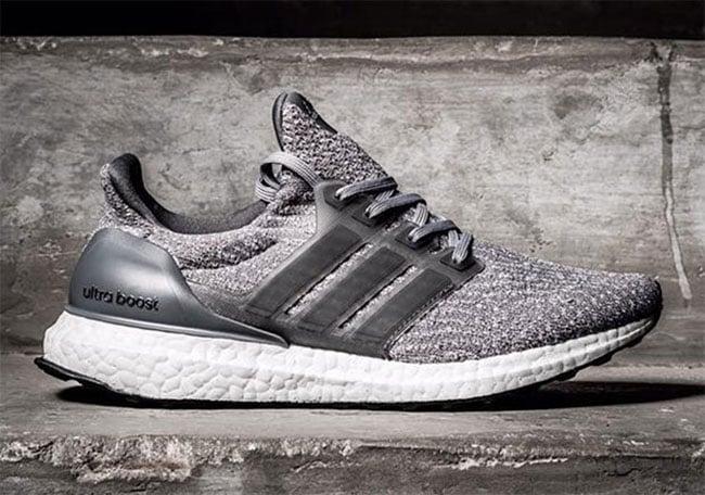 adidas Ultra Boost 3.0 Silver Grey White