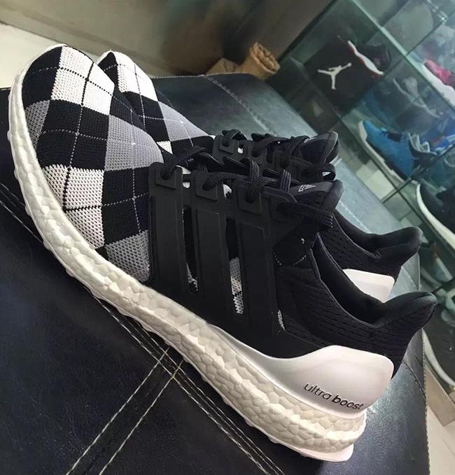 adidas Ultra Boost Argyle Plaid